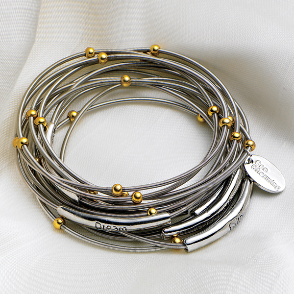 piano wire jewelry piano wire bracelets with words at catalog classics hh5312 8925