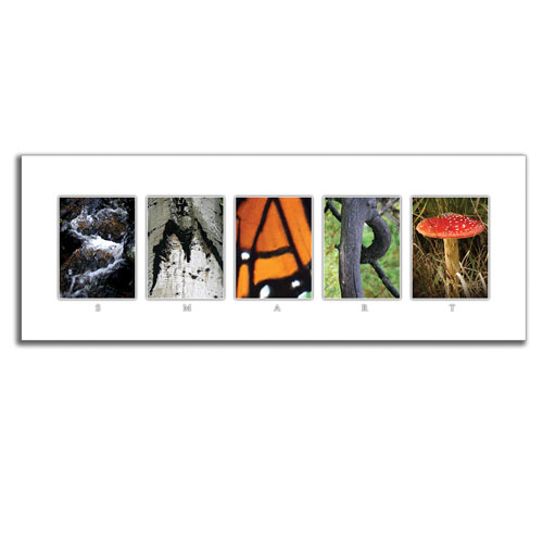 Your Name In Nature Wall Art   Personalized