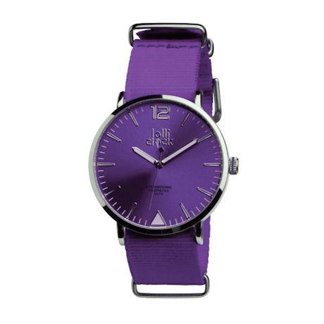 Luminous Color-Dial Watch