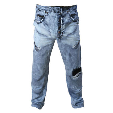 Super Soft Jeans Lounge Pants with Drawstring Waist