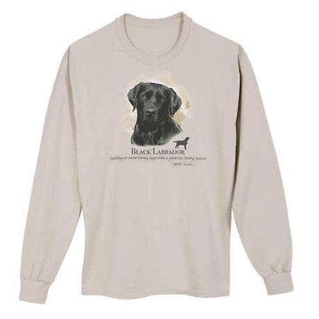 Dog Breed Shirts - Black Labrador