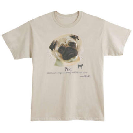 Dog Breed Shirts - Pug