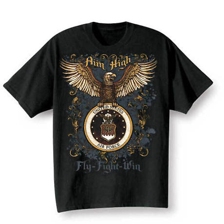 Golden Eagle Military Tee - Air Force