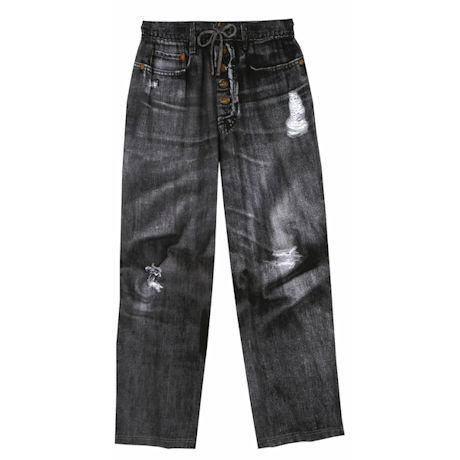 Black Jean Lounge Pants