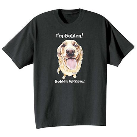 Dog Breed Shirts- Golden Retriever
