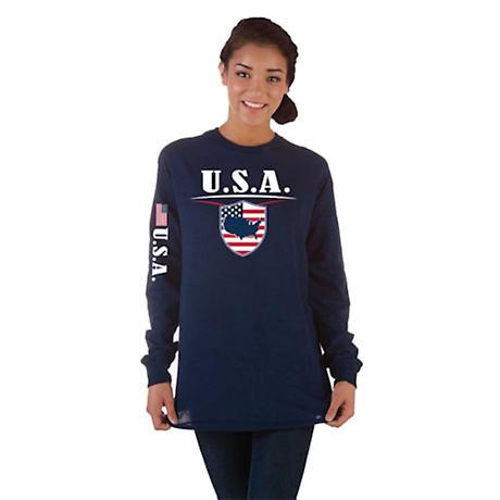 International Pride Long Sleeve T-Shirt - USA