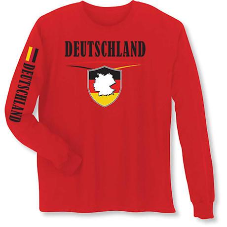 International Pride Long Sleeve T-Shirt - Duetschland