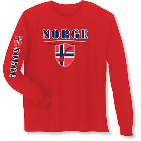 International Pride Long Sleeve T-Shirt - Norge