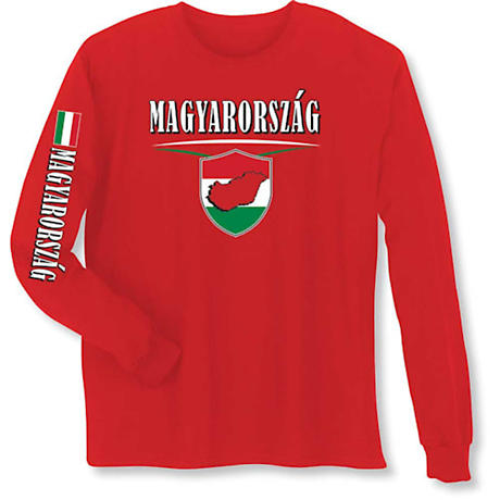 International Pride Long Sleeve T-Shirt - Magyarorszag