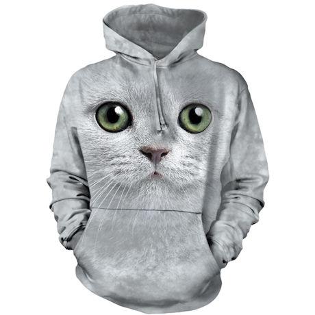 Cat Eyes Hoodies - Green Eyes
