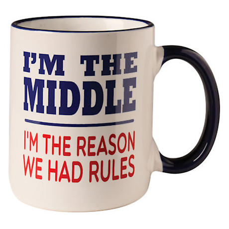 The Rules Mug - Middle Child