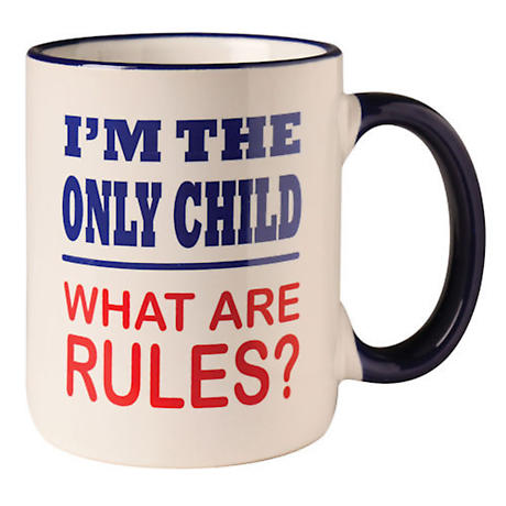 The Rules Mug - Only Child