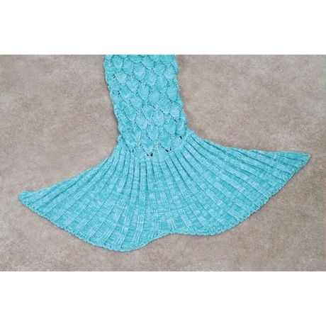 Mermaid Tail Blankets - Aqua