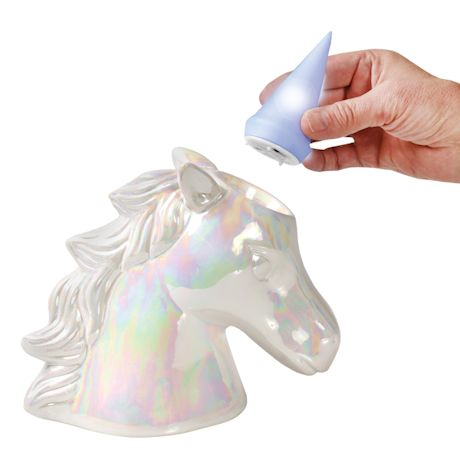 Unicorn Color-Shifting Light-Up Coin Bank