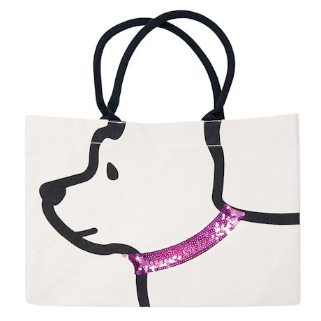 Dog Ears Tote Bag