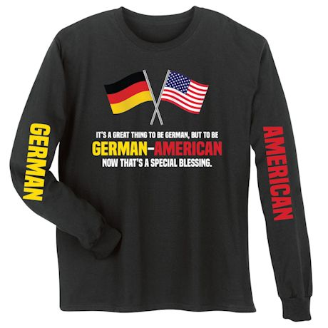 Special Blessings International Shirts - German-American