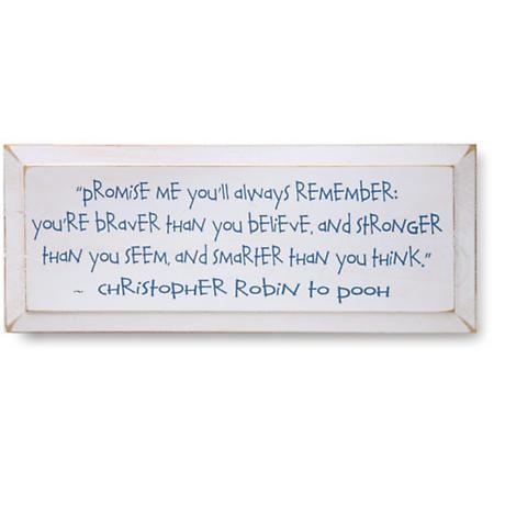 Christopher Robin Plaque