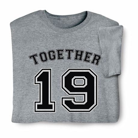 """Personalized """"Together"""" Shirts"""