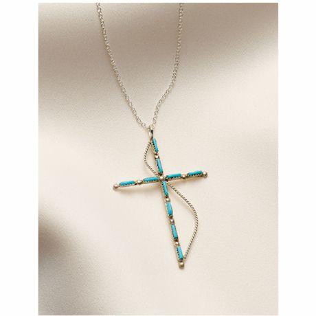 Zuni Cross Necklace