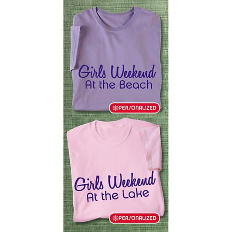 Personalized Girls Weekend Shirts