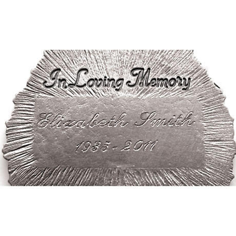 Personalized Tear-Shaped Memorial Ornament