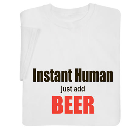 Personalized Instant Human Just Add [Ingredient] Long Sleeve T-Shirt