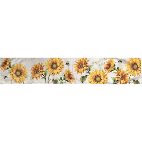 Sunflowers & Bumbler Bees Table Runner