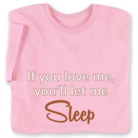 Personalized If You Love Me Ladies T-Shirts