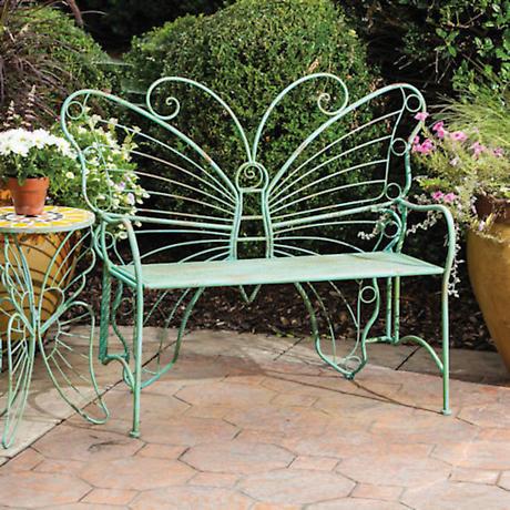 Perfect Grand Butterfly Garden Bench ...