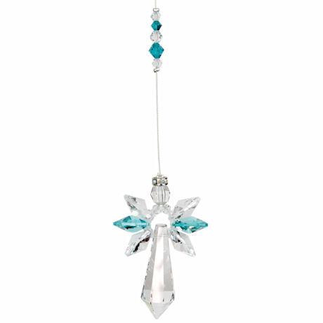 Guardian Angel Crystal Suncatcher