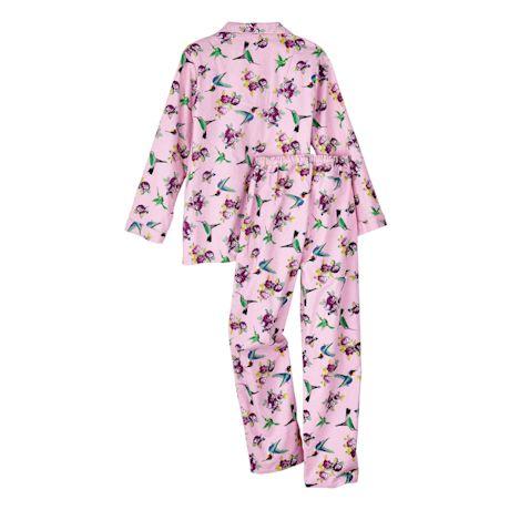 Hummingbird Flannel Pajama Set