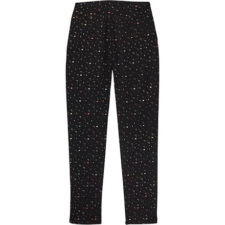 Colorful Confetti Tapered-Leg Pants