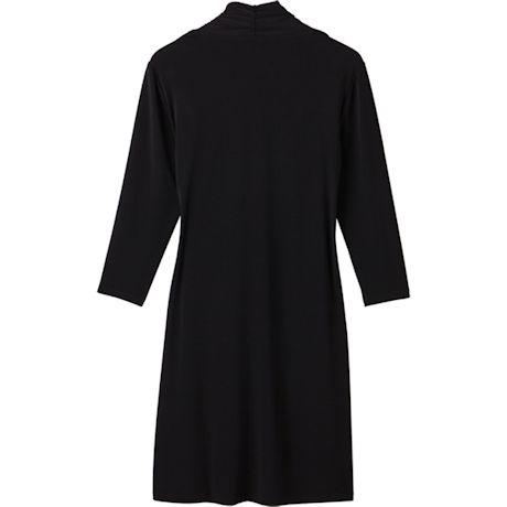 Faux Two-Piece Coat Dress