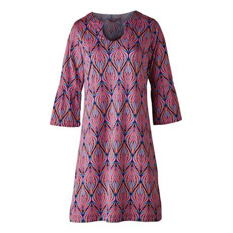 Kaleidoscope Art Knit Dress