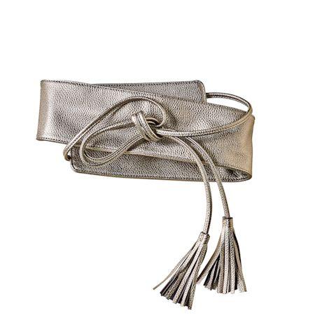 Tassel-Tie Wrap Belt