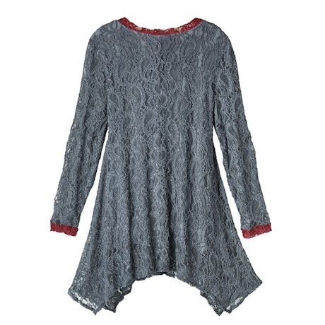 Lace Pocket Tunic