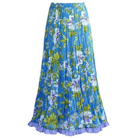 Waterlily Crinkle Skirt