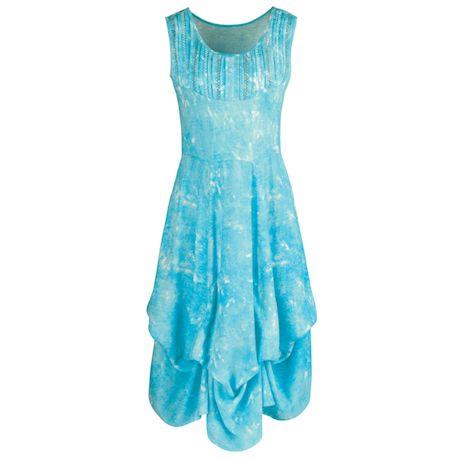 Darby Tie-Up Hem Maxi Dress