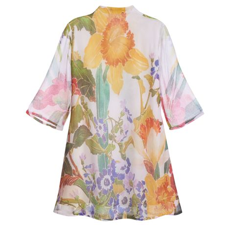 Beaded Floral Tunic