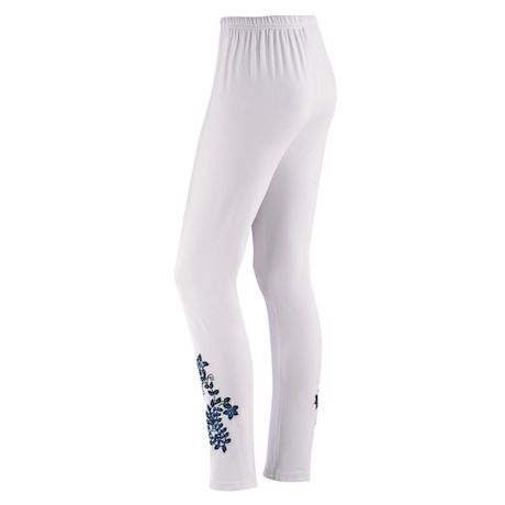 Exclusive Embroidered Leggings