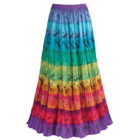 Carnivale Broom Skirt