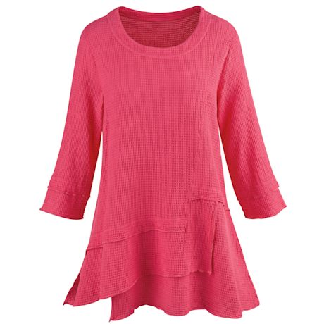 Step It Up With Texture Tunic