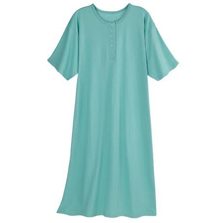 Classic Henley Nightshirt