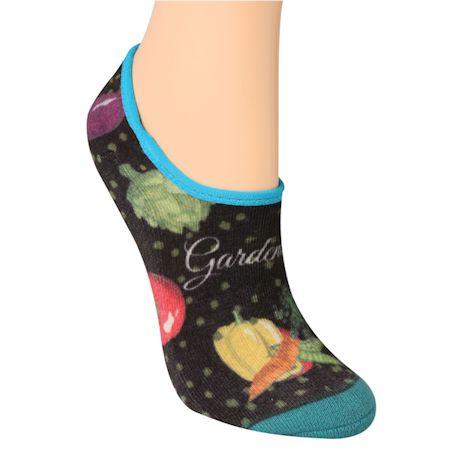 Chatty Girl No-Show Socks
