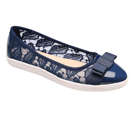 Soft Style® Macramé Ballet Shoe