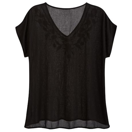Viva Embroidered Top