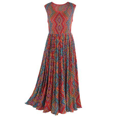 Jacaranda Maxi Dress