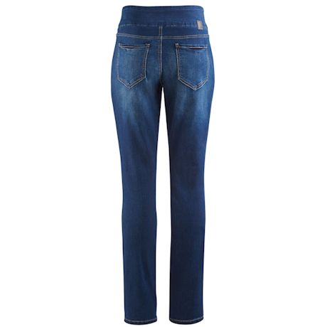Jag Butter Denim Pull-On Skinny Jean