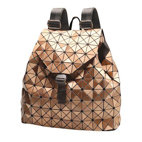Geo Metallic Backpack