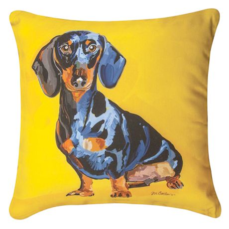 Colorful Canines Pillows